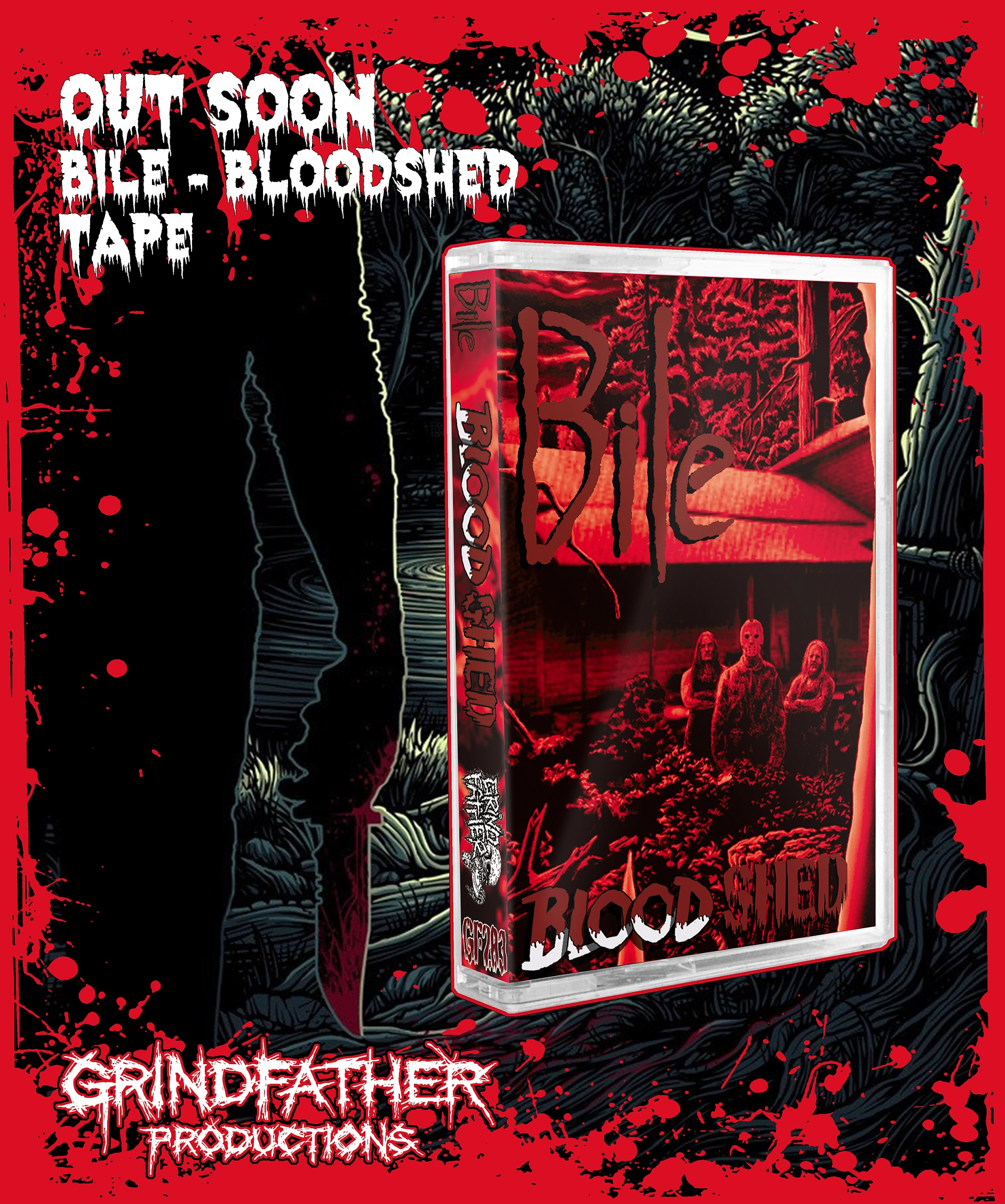 Bile - Bloodshed - out soon on Grindfather Productions