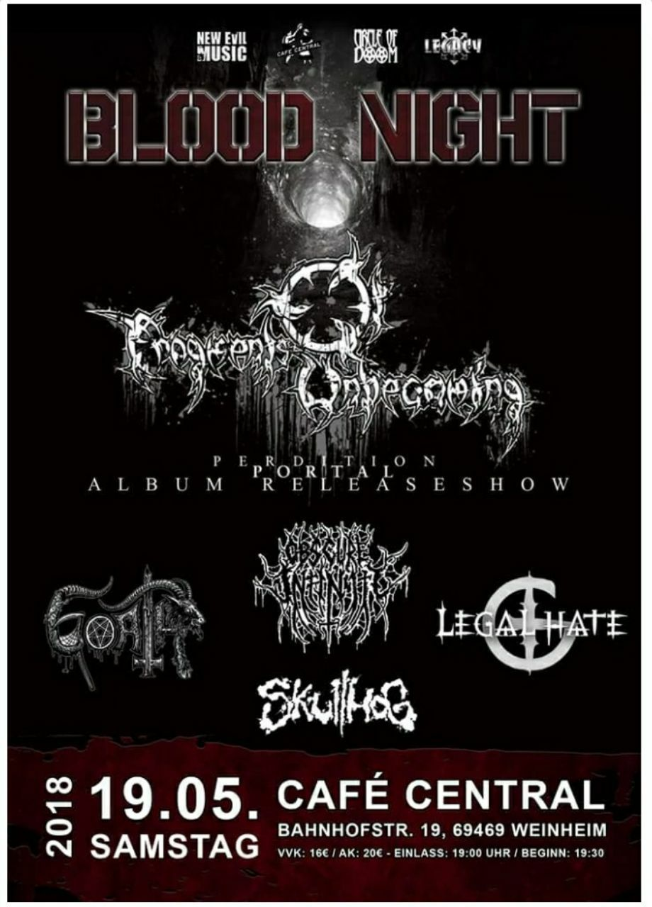 Blood Night, Metalfest Weinheim